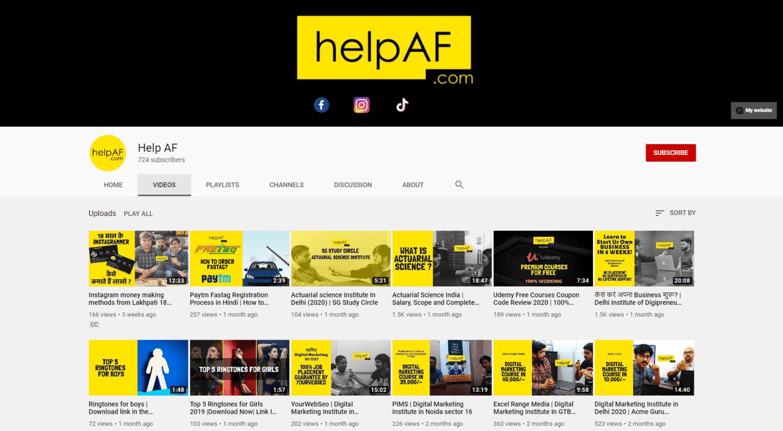 HelpAF.com