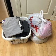 Giveaway clothes.