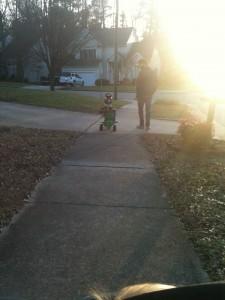 Father Son Walk