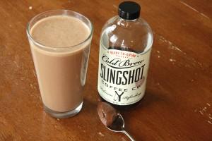 coffee nutella smoothie