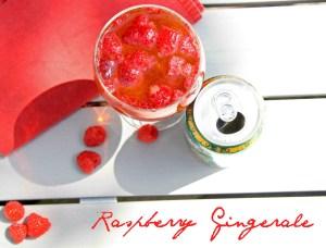 raspberry gingerale