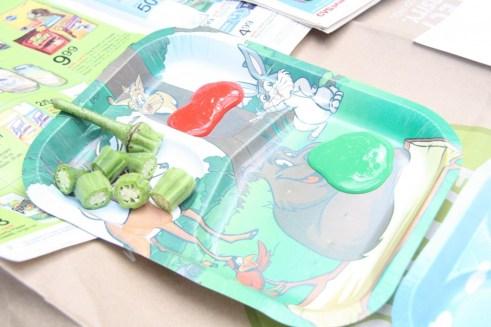painting okra