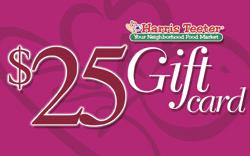 Harris Teeter Gift Card 25