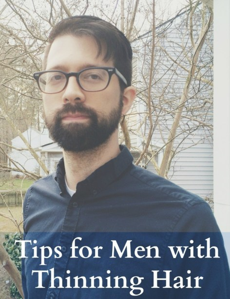tips for men with thinning hair