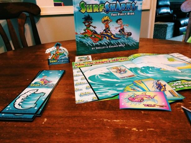 Surf Sharks Gift Set