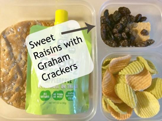 raisins in lunch