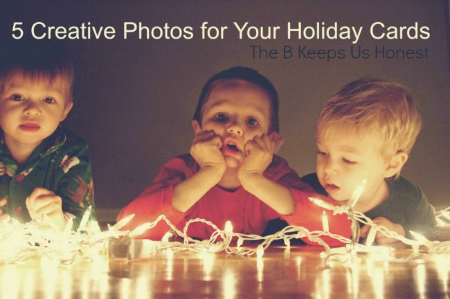 5 Creative Photos for Your Holiday Cards