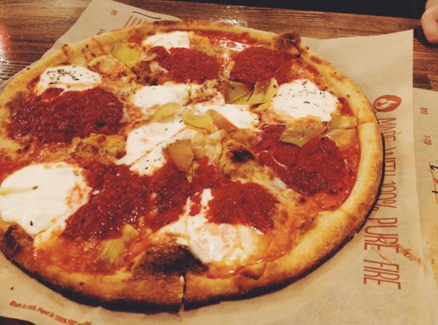 Blaze Pizza Art Lover