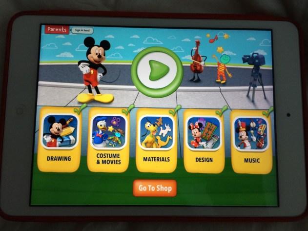 Disney Imagicademy Mickey's Magical Arts World