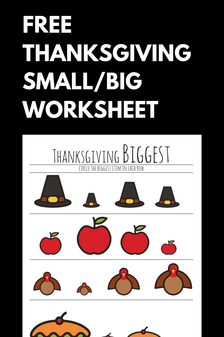 photo relating to Thanksgiving Puzzles Printable Free known as No cost Preschool Thanksgiving Worksheet The B Retains Us Truthful
