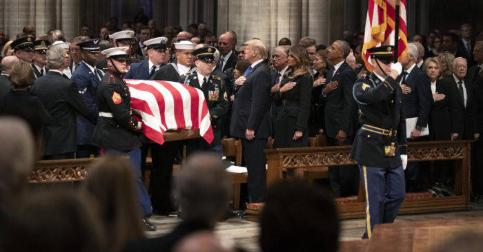 'Mission complete': Funeral recalls George H.W. Bush's service to God, family, country | TheBL.com