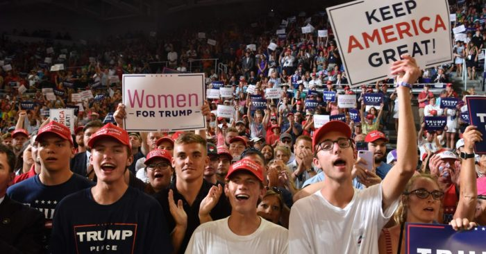 Trump supporters form line 48 hours early for campaign rally in North Carolina | TheBL.com