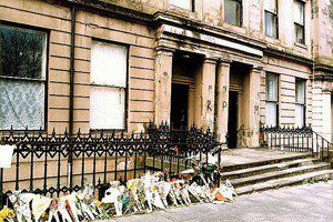 student fire death flat banned