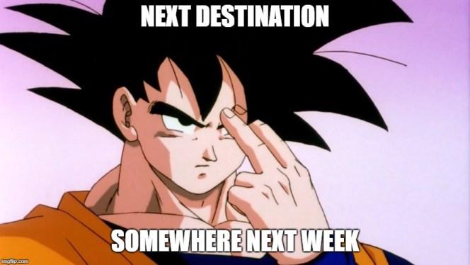BRB Next Week
