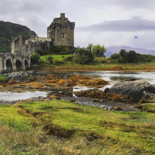 Photo of the Eileen Donan Castle