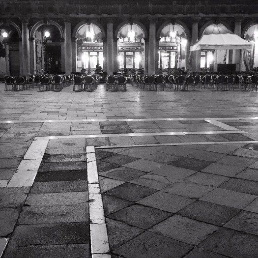 Photo of Marco Square at night, free of people