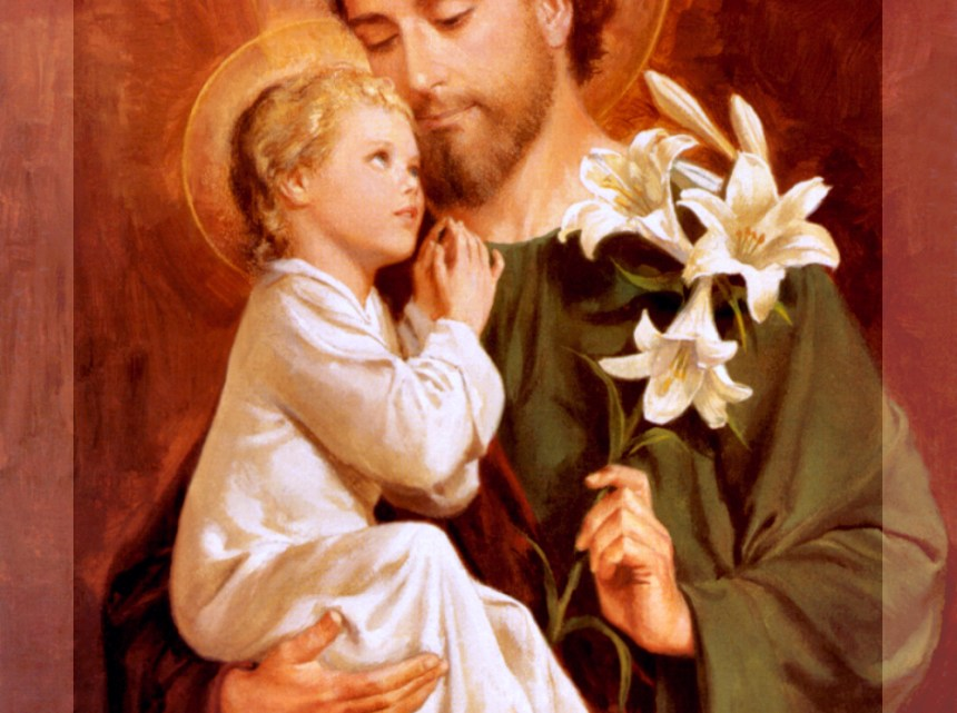 (BLACKCATHOLIC Launch and Dedication): Website Dedication – St. Joseph