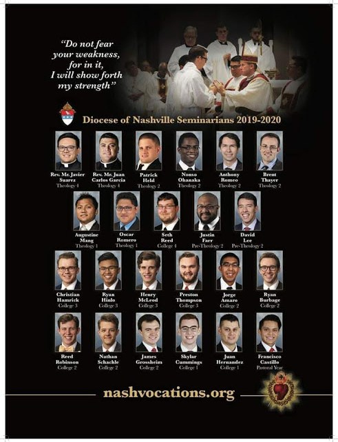 Our new diocesan seminarian poster is out!