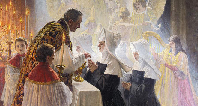 ARTICLE SHARE: When we receive Jesus in the Eucharist where does He go? [Aleteia]