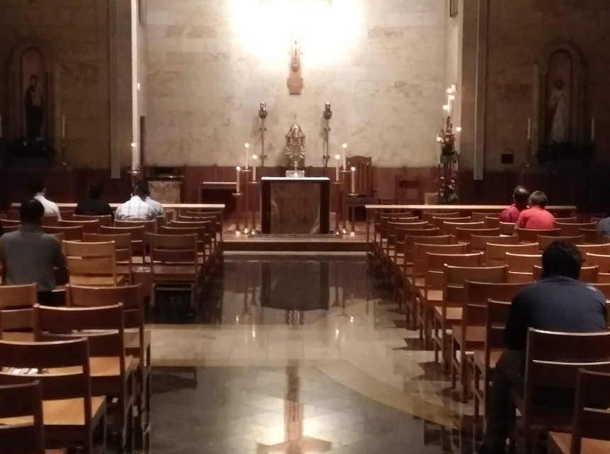 40 Hours Devotion at the Seminary and Your Intentions
