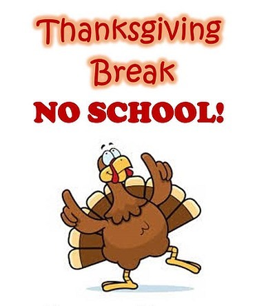 Finally! Thanksgiving Break!
