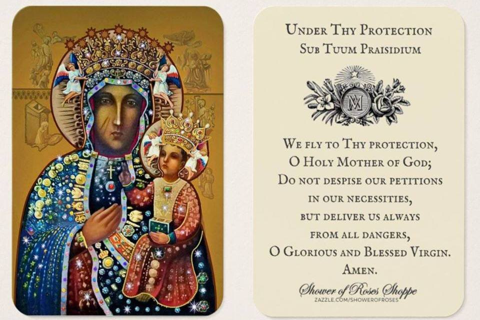Sub Tuum Praesidium! – One of the oldest prayers to our Blessed Mother
