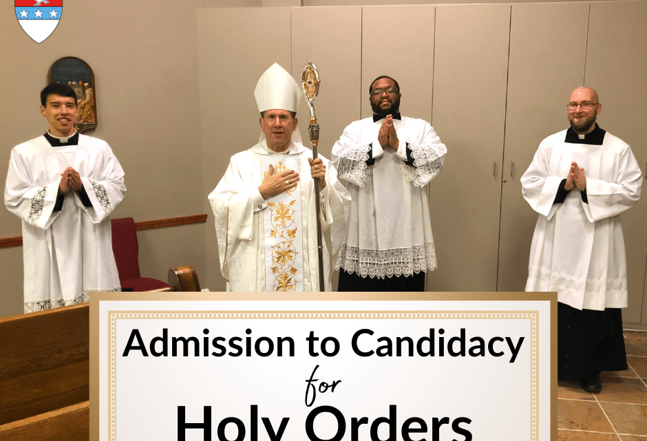 It's Getting Real: My Admission to Candidacy for Holy Orders – 3 – What it Means To Be a Candidate for Holy Orders Now.