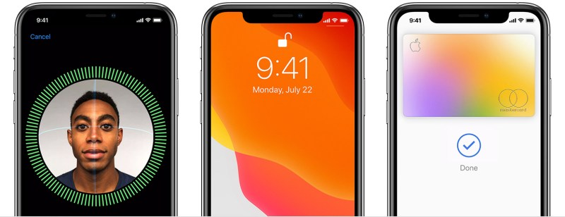 iPhone face ID compared to Samsung Face recognition