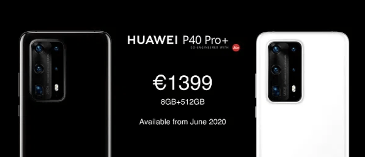 Huawei P40 Pro+ Price and Release Date