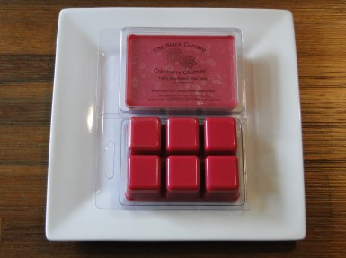Cranberry Chutney Soy Wax Tarts
