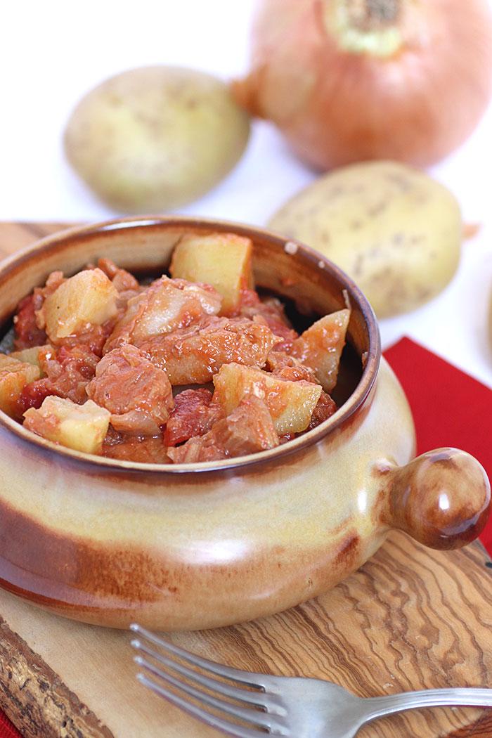 Ricetta stoccafisso con le patate alla pisana come si fa