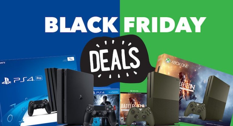 Top Best Xbox & PS4 Black Friday Deals 2017