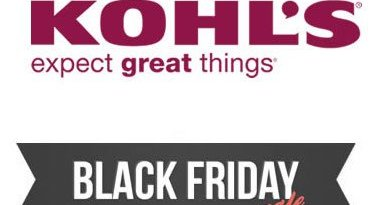Kolhs Black Friday Deals
