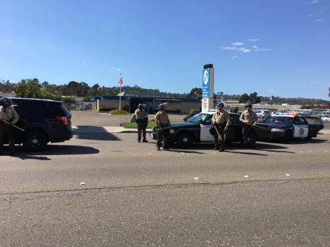 Police were called into El Cajon from all around San Diego County | The Black Lion