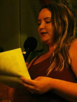 Janel Spencer-Levy from TAST 2.1 Reading her work | The Black Lion Journal | The Black Lion | Image ©2016 Christina Lydia