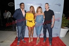 Christopher Martin, A.J Johnson, Tisha Campbell, Christopher Reid - Media Takeout - TVONE Event
