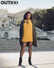 Alicia Garza Black Lives Matter CO-Founder: Photography by Ryan Pfluger in Washington, D.C., on October 5, 2015.