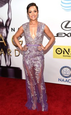 GRACE GEALEY NAACP IMAGE AWARDS 2016 RED CARPET