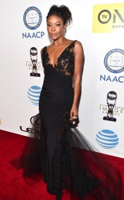GABRIELLE UNION NAACP IMAGE AWARDS 2016 RED CARPET