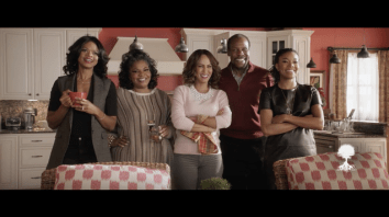 Left To Right: Kimberly Elise, Mo'Nique, Nicole Ari Parker, Danny Glover, Gabrielle Union