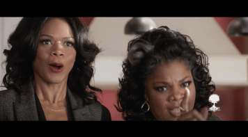 Left To Right: Kimberly Elise, Mo'Nique