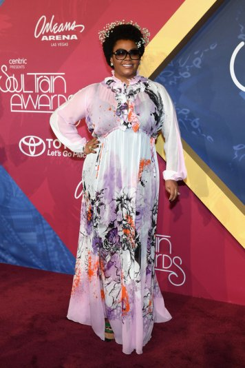 LAS VEGAS, NV - NOVEMBER 06: Singer Jill Scott attends the 2016 Soul Train Music Awards at the Orleans Arena on November 6, 2016 in Las Vegas, Nevada. (Photo by Ethan Miller/Getty Images)