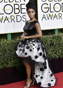 Mandatory Credit: Photo by Rob Latour/REX/Shutterstock (7734777ec) Janelle Monáe 74th Annual Golden Globe Awards, Arrivals, Los Angeles, USA - 08 Jan 2017
