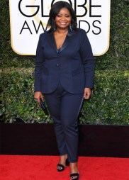 Mandatory Credit: Photo by REX/Shutterstock (7734773ea) Octavia Spencer 74th Annual Golden Globe Awards, Arrivals, Los Angeles, USA - 08 Jan 2017