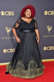 LOS ANGELES, CA - SEPTEMBER 17: Comedian Ashley Nicole Black attends the 69th Annual Primetime Emmy Awards at Microsoft Theater on September 17, 2017 in Los Angeles, California. (Photo by Frazer Harrison/Getty Images)