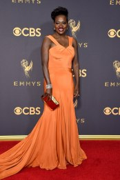 LOS ANGELES, CA - SEPTEMBER 17: Actor Viola Davis attends the 69th Annual Primetime Emmy Awards at Microsoft Theater on September 17, 2017 in Los Angeles, California. (Photo by John Shearer/WireImage)
