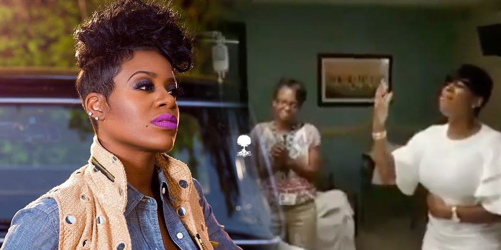 Fantasia Sings For A Woman's Paralyzed Husband A Simple Powerful Blessing
