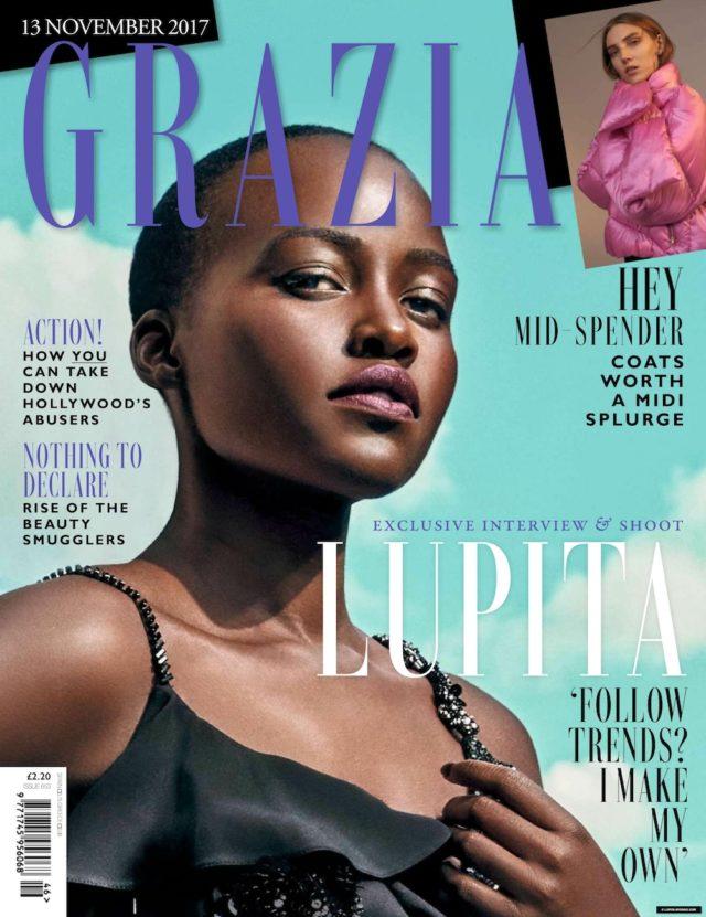 Lupita Nyong'o grazia magazine