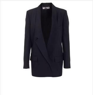 Stella McCartney Silk Tuxedo Jacket $1113