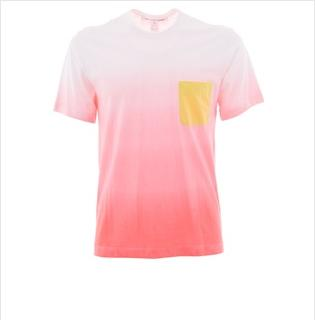 Comme Des Garcons Gradient Color T-Shirt $161